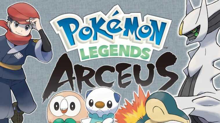 Pokémon Legends: Arceus Quels Pokémon Apparaissent?