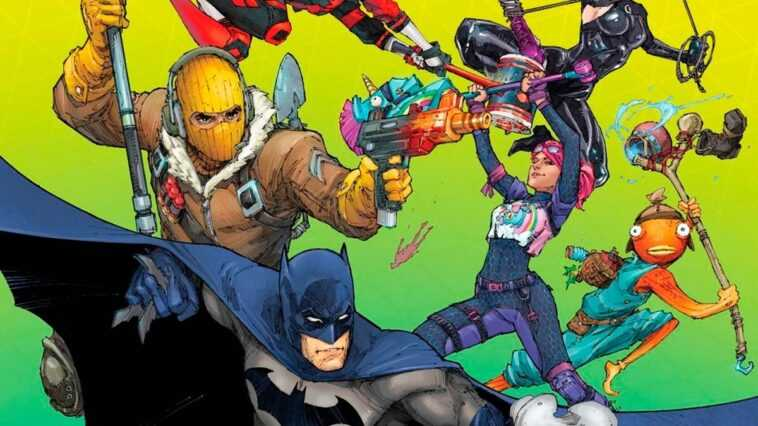 """DC et Epic Games préparent le croisement de """"Batman"""" et """"Fortnite"""""""