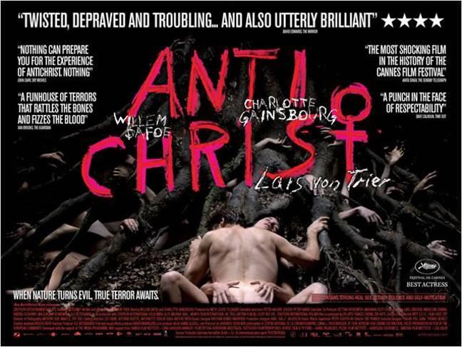Antéchrist.  Crédit: Nordisk Film Distribution