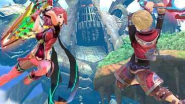 """Découvrez les captures d'écran de Pyra et Mythra de """"Smash Bros. Ultimate"""""""