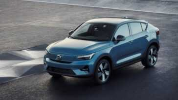 Volvo Lance Une Nouvelle Recharge électrique C40 Avec Une Autonomie