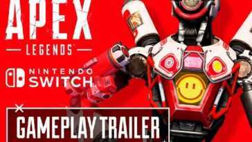 """Apex Legends"" révèle la bande-annonce de Nintendo Switch"
