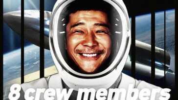 Un Milliardaire Japonais Recherche 8 Membres D'équipage Pour Une Mission