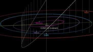 La Nouvelle Comète Leonard S'embrasera Cette Année