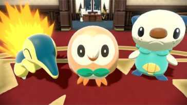 Pokémon Legends: Arceus Pourquoi Bauz, Feurigel Et Ottaro Ont Ils