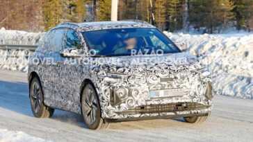 Audi Q4 E Tron. Des Photos D'espionnage Montrent Un Suv électrique
