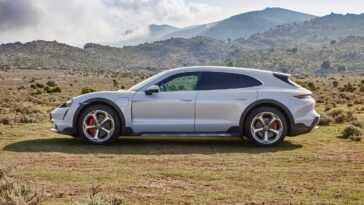 Présentation De La Porsche Taycan Cross Turismo. Jusqu'à 761 Ch