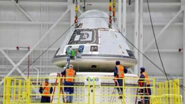 Le Deuxième Vol D'essai De Taxi Spatial Starliner De Boeing