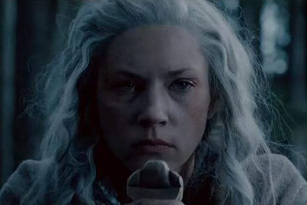 Les cheveux de Lagertha ont changé en peu de temps (Photo: Vikings / History Channel)