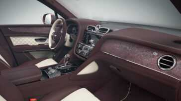 Bentley Bentayga Mulliner. Encore Plus Exclusif Avec 26 Couleurs De