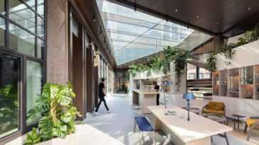 Le nouveau bureau d'Amsterdam de Guerrilla vous laissera vert d'envie