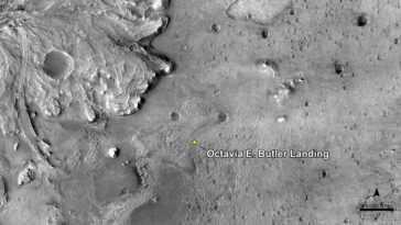 La Nasa Nomme Le Site De Touché Mars Du Rover