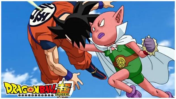 Bills se déguise en Monaka pour combattre Goku et garder la couverture de Monaka (Photo: Toei Animation)