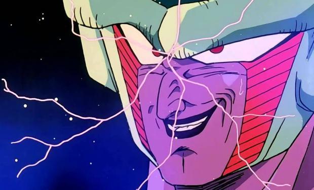 King Cold apparaît pendant une courte période car il est vaincu avec Mecha Freeza par Future Trunks (Photo: Toei Animation)