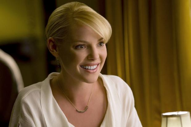 "Katherine Heigl dans la comédie ""The Ugly Truth"" (Photo: Columbia Pictures)"