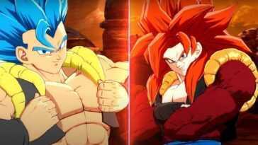 La bande-annonce de Dragon Ball FighterZ Gogeta SS4 est un battage médiatique maximal