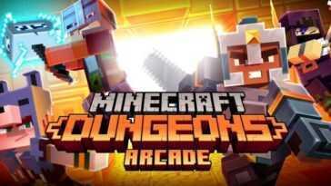 Minecraft Dungeons Arcade: Le Titre Coopératif Devient Une Véritable Machine