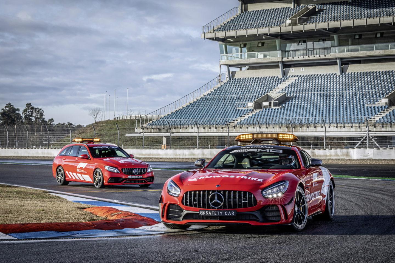 Voiture de sécurité F1 Mercedes-AMG