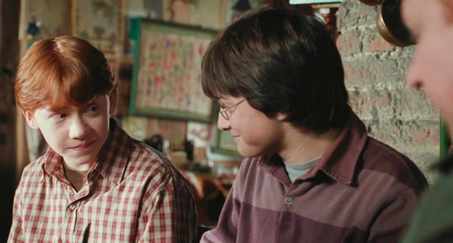Rupert Grint comme Ron Weasley dans Harry Potter
