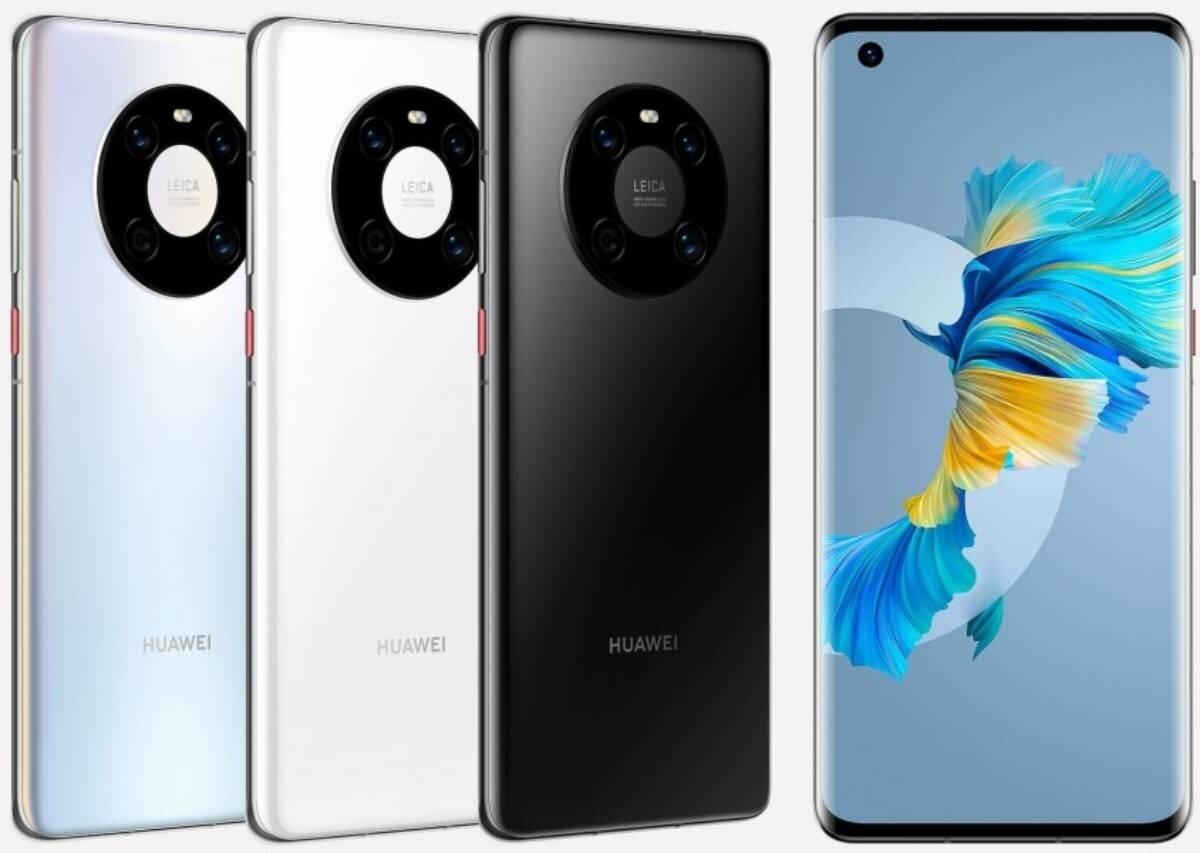Voici les couleurs disponibles du Huawei Mate 40E