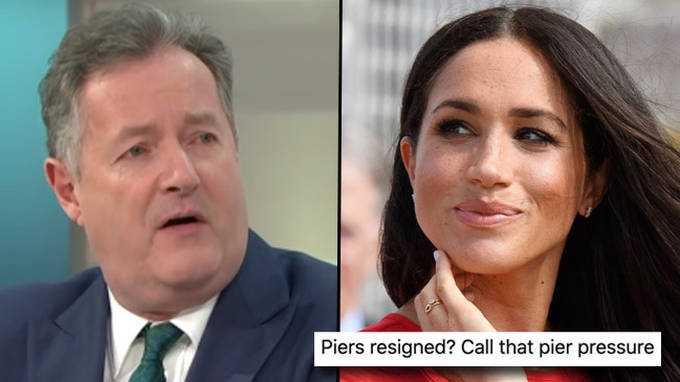 Piers Morgan A Quitté Good Morning Britain Et Les Mèmes