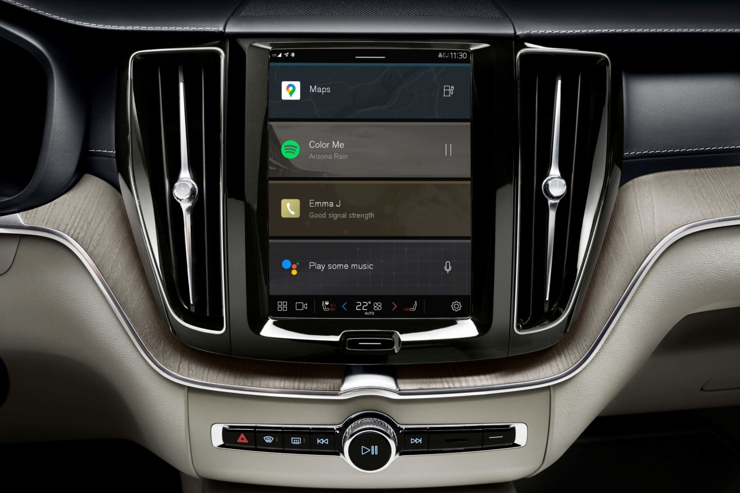 Volvo XC60 - Système Android