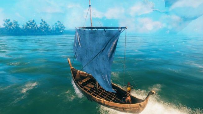 Valheim: Réglage des voiles - Construction de bateaux - Guide (Solution)