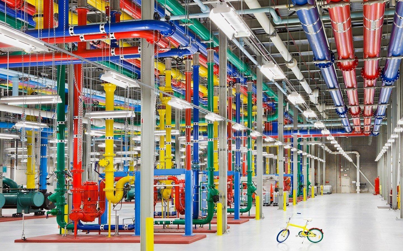 Un centre de données Google