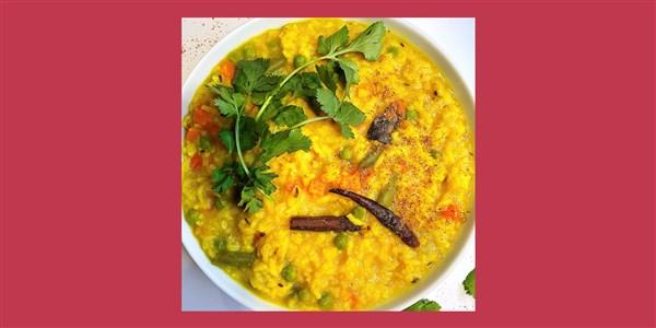 Khichdi aux épices indiennes