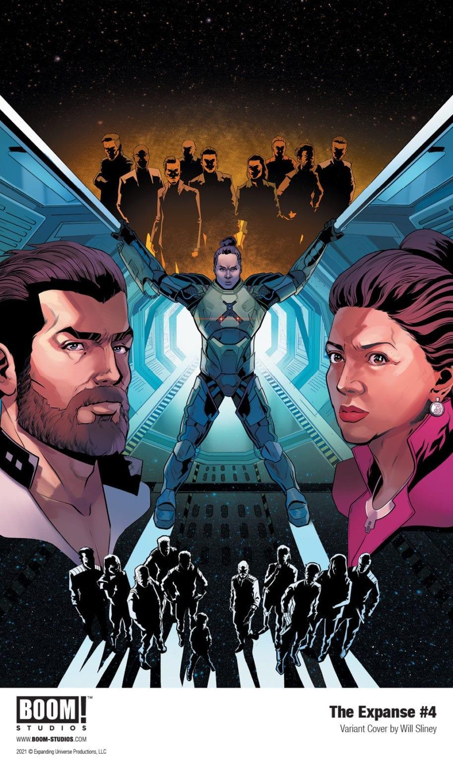 """Bobbie Draper et Chrisjen Avasarala font face à une dernière menace dans l'apogée de Boom!  Studios ' """"L'étendue # 4."""""""