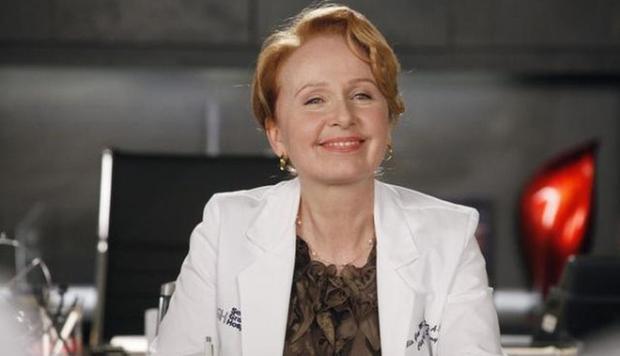 Kate Burton a joué Ellis Gray dans `` Grey's Anatomy '' (Photo: ABC)