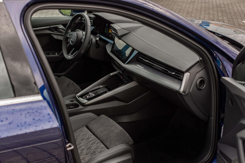 Intérieur de l'Audi A3 40 TFSIe