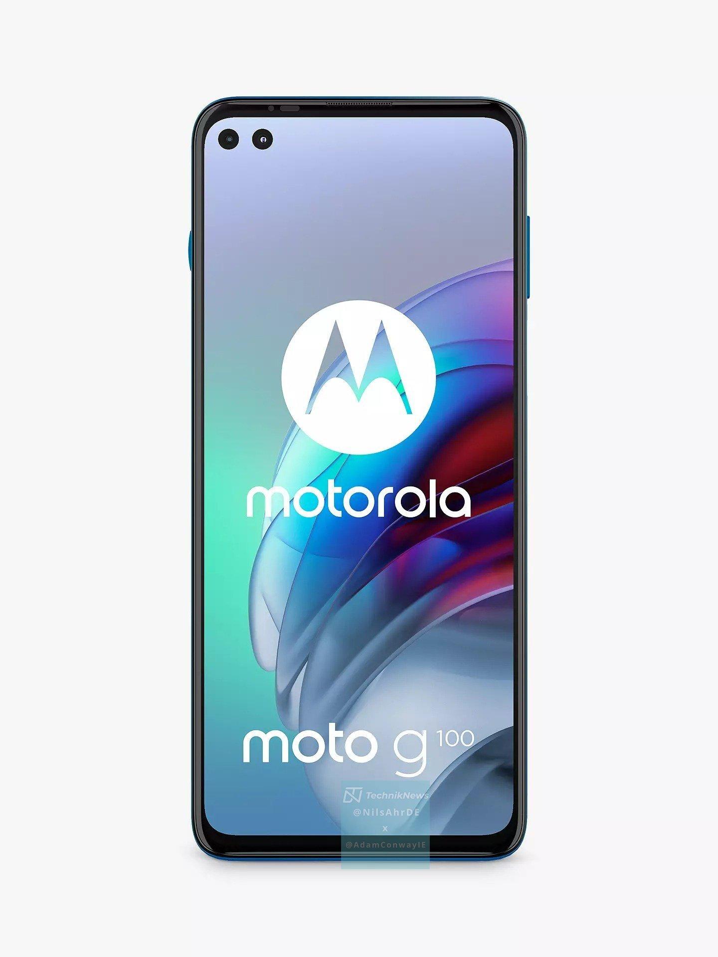 Le Motorola Moto G100 est complètement filtré, un Motorola Edge S pour l'Europe