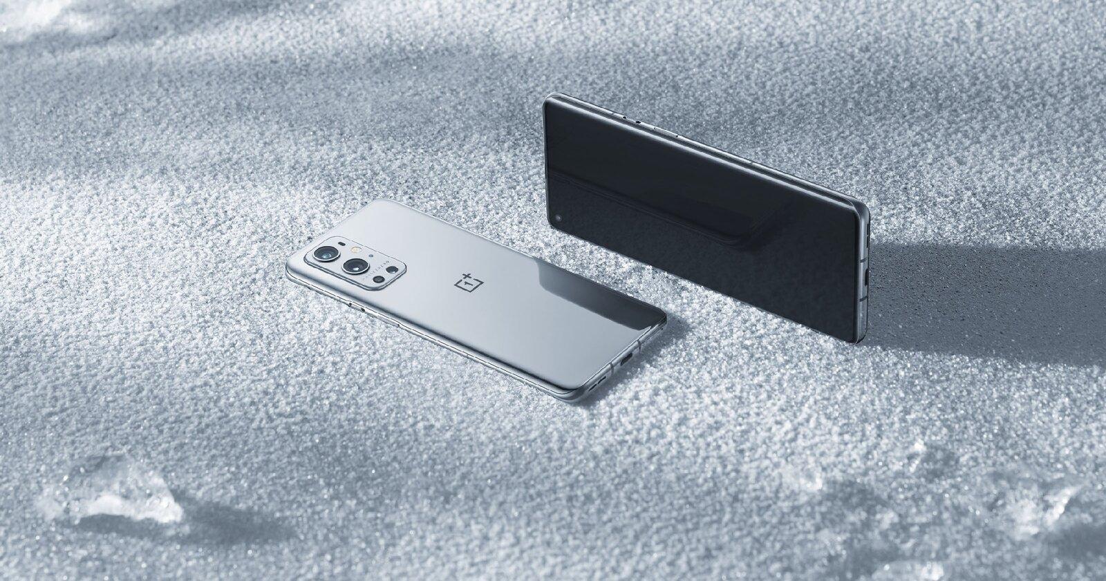 OnePlus 9 Pro, arrière et avant
