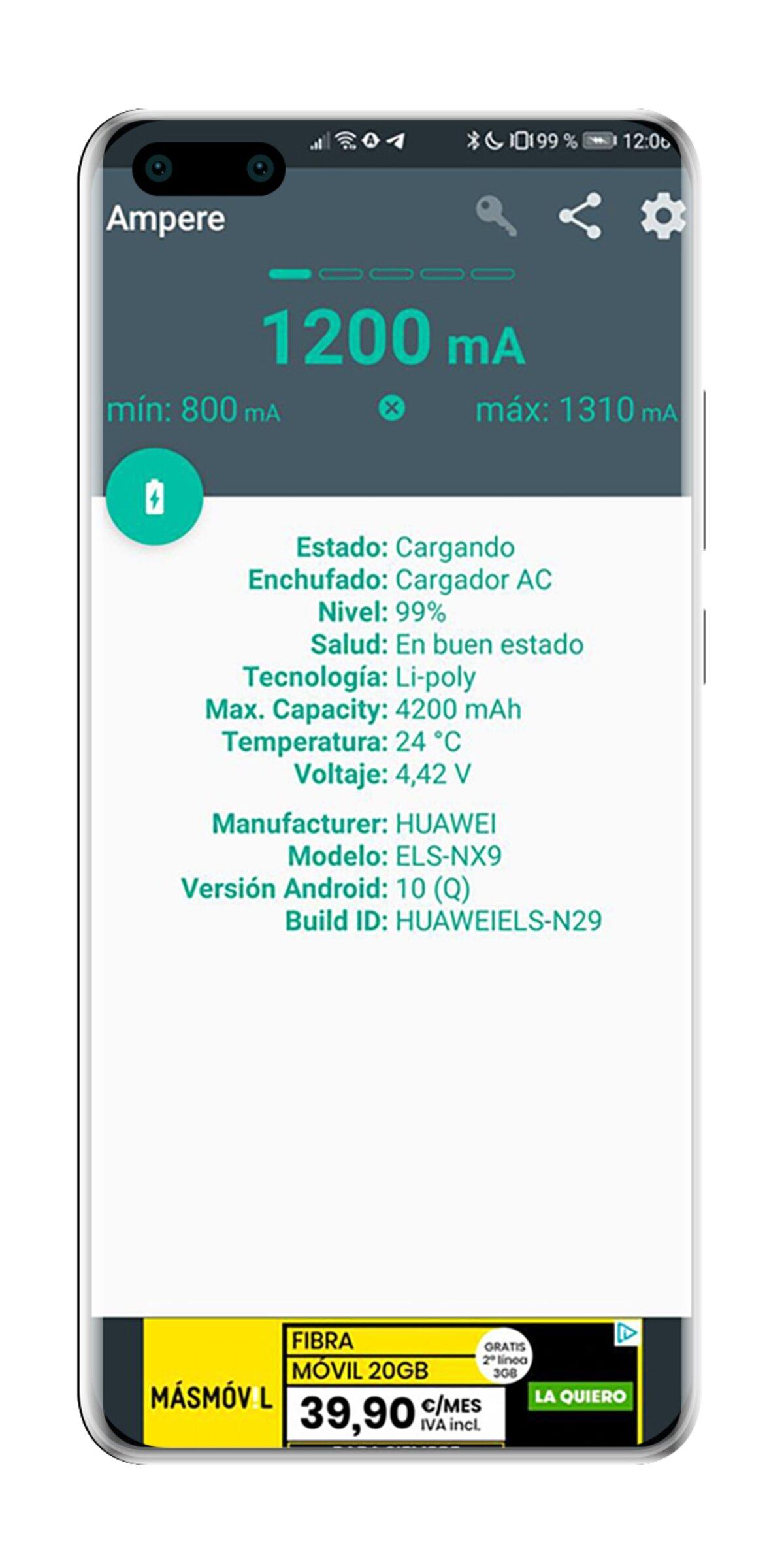 Application Ampère