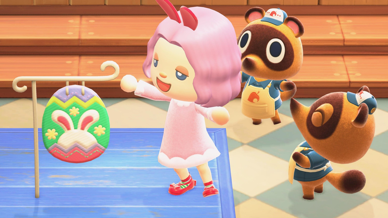 Animal Crossing New Horizons Pâques