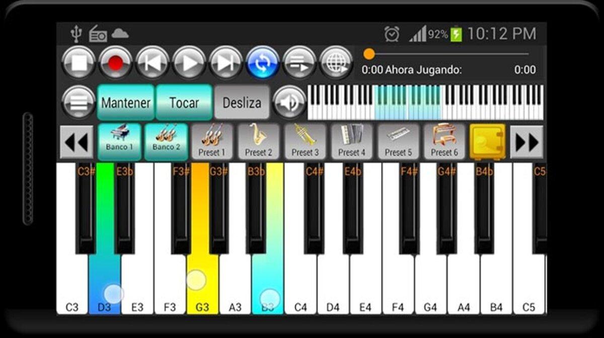 clavier et cordes de piano