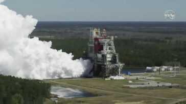 La Fusée Lunaire Sls De La Nasa Passe Le Test