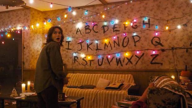 """Les lumières de Noël dans """"Stranger Things"""" (Photo: Netflix)"""