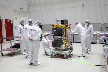 Essais préalables au lancement au cosmodrome de Baïkonour en février 2021