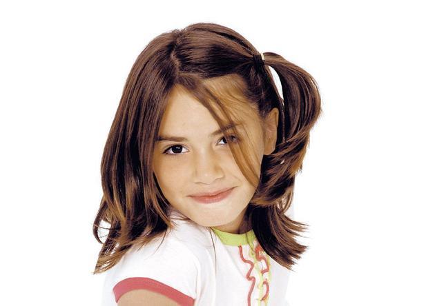 """Sa première participation à la télévision était dans le programme pour enfants """"Caramelito y vos"""".  (Photo: Twitter)"""