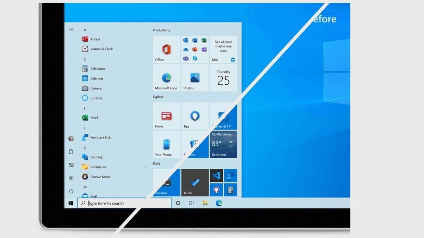Windows 10 Démarrer nouveau