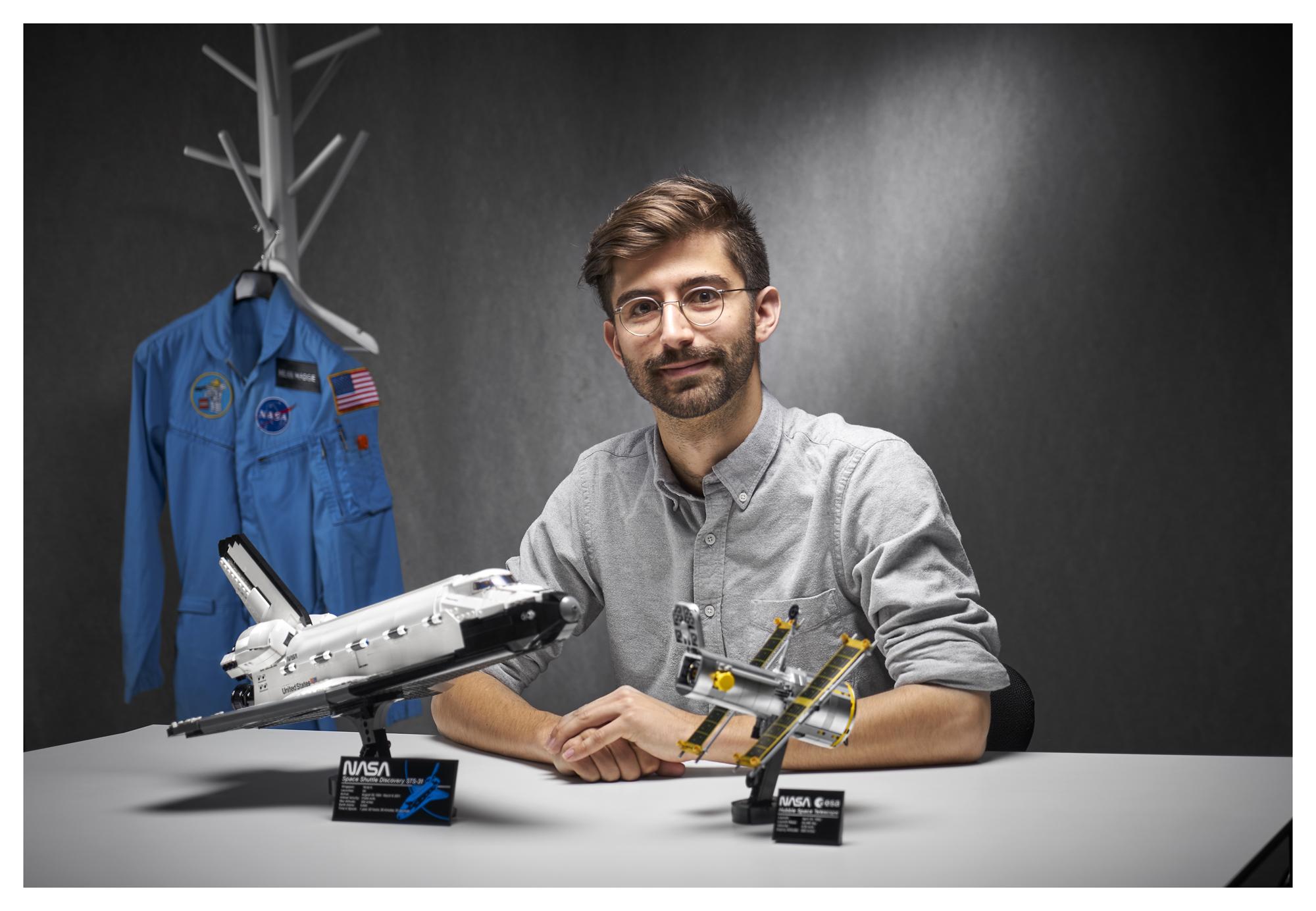 Le nouvel ensemble de découverte de la navette spatiale de la NASA de Lego est livré avec le télescope spatial Hubble et sera lancé dans les histoires Lego le 1er avril 2021.