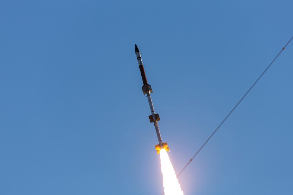 Une fusée-sonde à trois étages Terrier-Terrier-Oriole a lancé la première mission de petite fusée de l'US Space Force le 3 mars 2021.