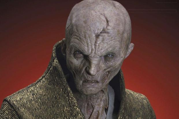 """Snoke est tué dans """"The Last Jedi"""" de Kylo Ren (Photo: Star Wars / Lucasfilm)"""