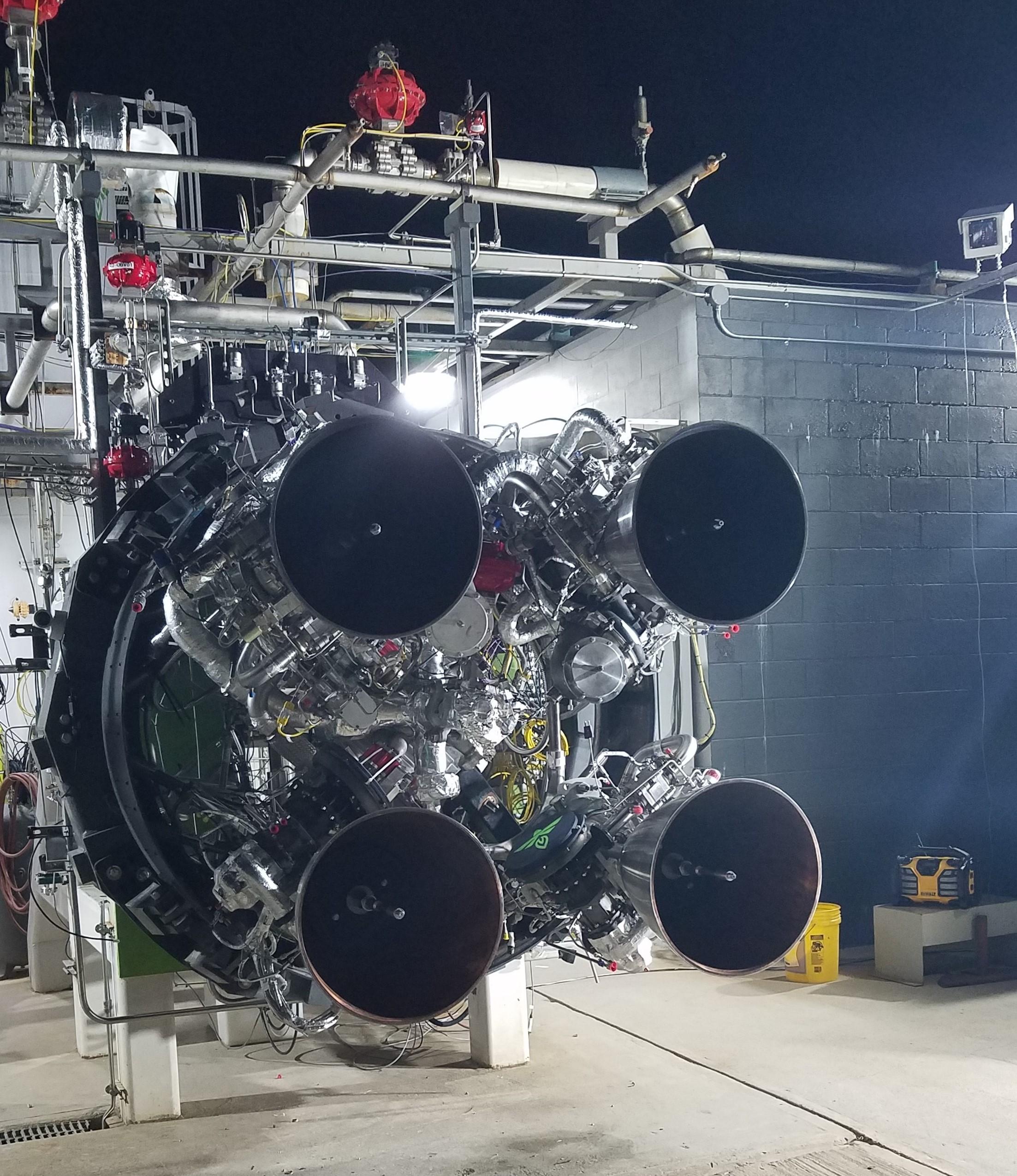 Le premier étage de la fusée Alpha de Firefly Aerospace est propulsé par quatre moteurs Reaver.