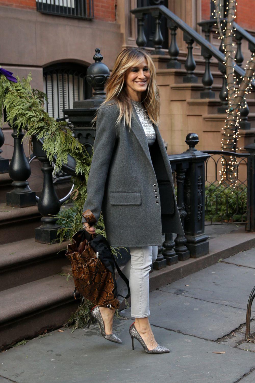 Les basiques font également partie de la garde-robe de Sarah.