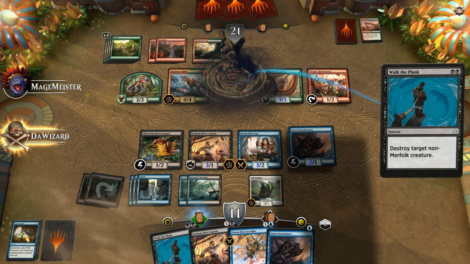 Magic: The Gathering Arena en action