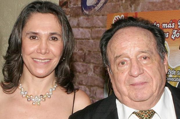 Roberto Gómez Bolaños et Florinda Meza (Photo: Instagram)