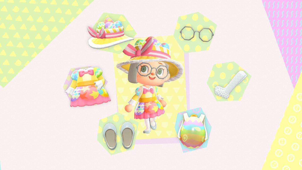 Animal Crossing New Horizons Vêtements Œuf Chanceux